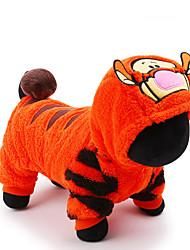Perros Disfraces / Abrigos / Mono Amarillo Invierno / Primavera/Otoño Animal Halloween, Dog Clothes / Dog Clothing-Other