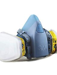 masques anti-gaz 3m-7502 à 6003 vapeur de gaz d'acide organique activé masques de carbone