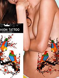 5pcs Временные тату Прочее Non Toxic / WaterproofЖенский / Взрослый Вспышка татуировки Временные татуировки