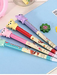 Lovely Bear Head Automatic Pencil (Random Colors)