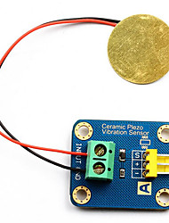 Arduino Analog Shock Sensor Piezoelectric Ceramic Electronic Building Blocks With 3p Line