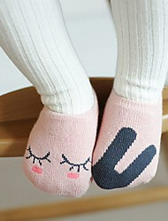 Girls / Boys Socks & Stockings,All Seasons Cotton Brown / Pink / White / Gray