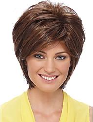 top venda peruca de cabelo humano Mechas macio peruca curta