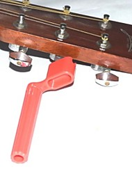 Guitar changing strings tool winding device