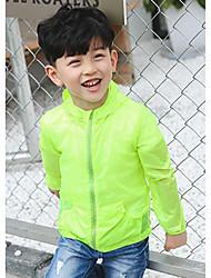 Casual/Dagelijks-Effen-Nylon-Zomer-Boy's-Kostuum & Blazer-Blauw / Groen