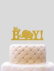 It's a Boy Cake Topper