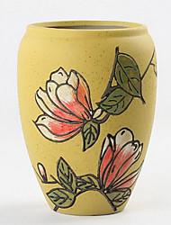 criativa jardim artesanato cimento mobiliário de casa decoração flores artificiais vasos / vaso
