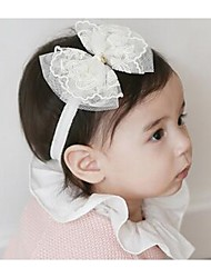 Girls Hair Accessories,All Seasons Cotton Blends Pink / White