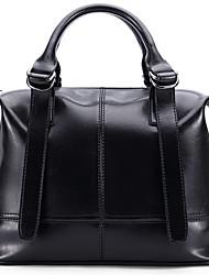 Stiya Fashion Vintage Multifunction Large Capacity Top Grade Genuine Leather Lady Shoulder Bag