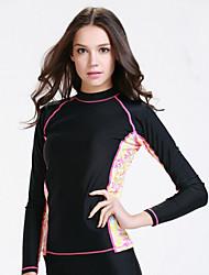 SBART Femme Combinaisons Tenue de plongée Compression Costumes humides 1.5 à 1.9 mm Noir XL / XXXL / XXXXL Plongée