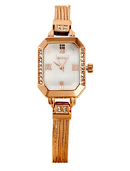 Women's Luxury Fashion Crystal Steel Band Quartz Watch