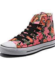 Converse Chuck Taylor All Star X Andy Warhol Women's Shoes Canvas Outdoor / Athletic / Casual Sneakers Pink / Red
