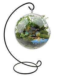 Moss Micro Landscape Ecology Bottle Finished Package Home Decoration