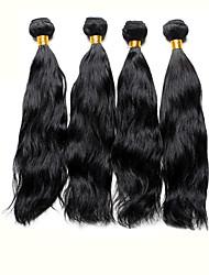 Cabelo Humano Ondulado Cabelo Brasileiro Ondulado Natural 4 Peças tece cabelo