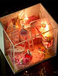 jour de bricolage chat assemblé à la main modèle maison cadeau d'anniversaire valentine