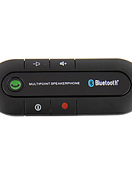 carro Universal Preto Kit Automotivo Bluethooth
