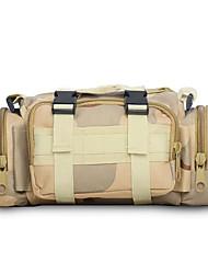 10 L Hüfttaschen Camping & Wandern Draußen Wasserdicht Gelb Nylon