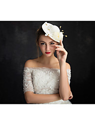 Women's Lace Flax Net Headpiece-Special Occasion Fascinators 1 Piece