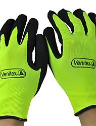 sin costura de punto guantes de seguridad, guantes de látex recubrimiento delta®