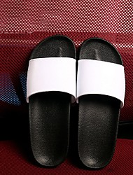 Sandals Leatherette Outdoor / Casual Flat Heel Others Black / White