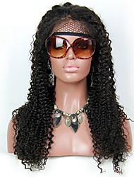 brazilian coquins droite sans colle de cheveux perruques de dentelle&perruque avant de lacet # 1, # 1b, # 2, # 4 perruques de cheveux