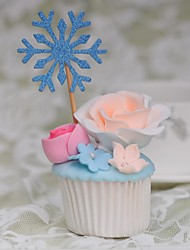 Snowflake Pops (Set of 10)
