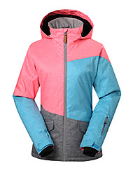 Gsousnow winter ski suit /women female ladies brands snow jackets/ windproof waterproof breathable colorful ski jackets