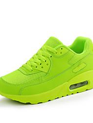 Damen-Flache Schuhe-Sportlich-Tüll-Flacher AbsatzSchwarz Grün Rot
