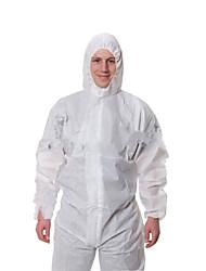 3m-4515 weiß mit Kapuze Schutzanzügen staub- und wasserdicht chemische Anzüge XL-Code (179-187cm)