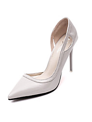 Women's Shoes Leatherette Fall Heels / Pointed Toe Heels Office & Career / Party & Evening / Casual Stiletto Heel