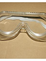la poussière tempête lunettes antiéclaboussures bord brillant souple transparent de protection des verres de lunettes