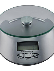 Kitchen Household Glass Baking Electronic Kitchen Scale, With Peeling Function