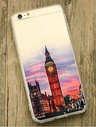 de volta À Prova de Impacto Vista da cidade TPU Macio Shockproof Case Capa Para Apple iPhone 6s Plus/6 Plus / iPhone 6s/6