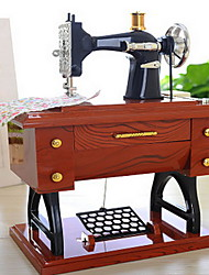 Classical Music Box Sewing Machine Model