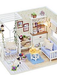 chi fun maison bricolage maison petit modèle chat journal pour envoyer un cadeau d'anniversaire de création de petite amie