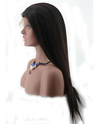 Lace Front Wigs Silky Straight Glueless Peruvian Lace Wig Virgin Cheap Human Hair Lace Front Wigs With High Ponytail