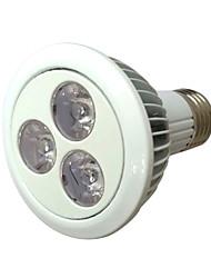 3W Luz de LED para Estufas 120 lm Vermelho / Azul LED de Alta Potência Decorativa / Impermeável AC 85-265 V 1 Pças.