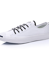 Converse Jack Purcell Men's Shoes Low Canvas Outdoor / Athletic / Casual Sneaker Flat Heel Black / White
