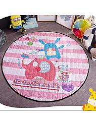 de malha de algodão esteiras pad quilting circulares contendo tatami bebê engatinhando mat pad piquenique