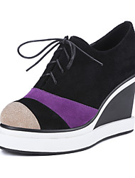 Women's Shoes Suede / Leather Wedge  / Platform / Gladiator / Comfort / Novelty / Styles / Pointed Toe / Round Toe /