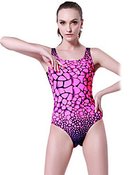 SBART Women's Swimwear Diving Suit Compression Wetsuits 1.5 to 1.9 mm Pink XL / XXL / XXXL / XXXXL Swimming