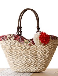 STYLE-CICI® Women Straw Tote Purple / Blue / Green / Red-527747558698