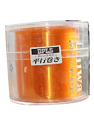 100M / 110 Yards Monofilament Orange / Gray 120LB 0.2 mm For General Fishing(Random Delivery)