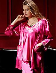 Women Satin Sleepwear Sets / Bridal Sleepwear / Sleepwear Pajamas / Sleep Tank / Lounge Pants