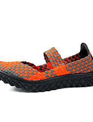 lavoro tallone piano PU scarpe da donna&mocassini di sicurezza / novità / open toe / slip-on esterno