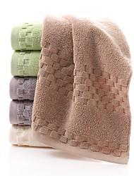 "1 Piece Full Cotton Thickening Bath Towel  55"" by 27"" Plaid Pattern Super Soft"