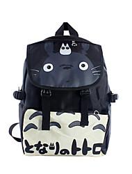 bolsa Inspirado por Mi vecino Totoro Cosplay Animé Accesorios de Cosplay bolsa / mochila Negro Nailon Hombre / Mujer