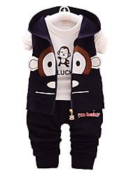 New Spring And Autumn Children Clothes,Boy Suit, Cotton, Boys Gentle Clothes's Wear Three-piece Suit