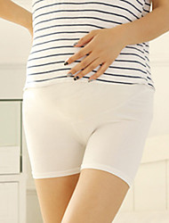 Maternity Simple Shorts Pants,Modal Stretchy