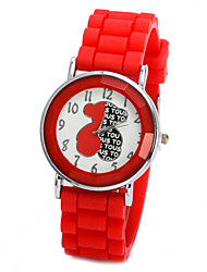 Unisex Watch Winnie The Letter Candy Color Silicone Sports Watches Children Watch Kids Watch